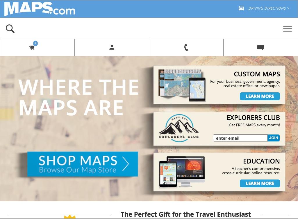 Maps.com Magento Enterprise Integration