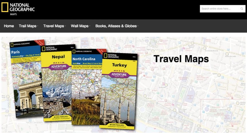 National Geographic Maps NatgeoMaps.com